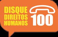 Logomarca Disque 100