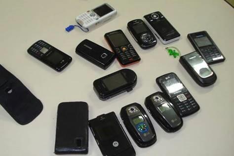 Roubo de celulares